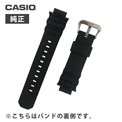 CASIO純正g-shock用交換ベルト10273059対応AW-590AW-591AWG-100BRAWG-100AWG-101AWG-M100用交換バンド(1.純正バネ棒(2本)+バネ棒外し+説明書付き)