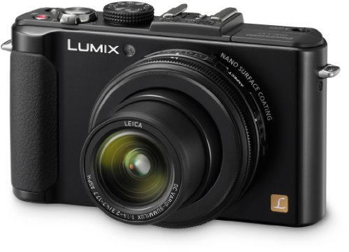 Panasonic Lumix DMC-LX7EG-K Kompaktkamera (10 Megapixel, 3.8-fach opt. Zoom, 7,6 cm (3 Zoll) Display, 24mm Weitwinkel, manueller Fokus, Full-HD Video) schwarz