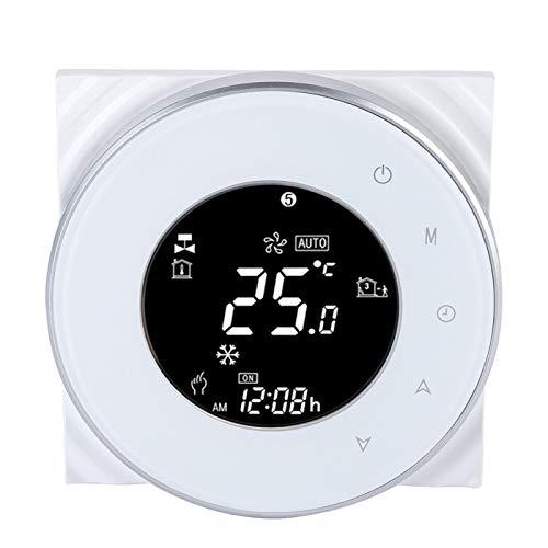 Termostato de Control Remoto, termostato WiFi, programación de Tiempo de Aviso de Voz de Ahorro de energía para el hogar