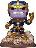 Funko Pop! Marvel Heroes: Thanos Snap 6' Deluxe Vinyl Figure, Multicolor