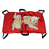 Walkin' Transport Stretcher for Dogs | Emergency Animal Carrier with Safety Strap | 250 Pound Weight Limit | Pet Stretcher Size: 47 L X 29 W inches