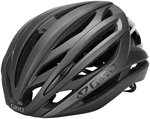 Giro Unisex– Erwachsene Syntax Fahrradhelm Road, Matte Black, Large/59-63 cm