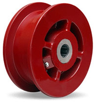 Double Flanged Track Wheel 6