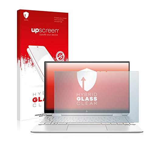 upscreen Hybrid Glass Panzerglas Schutzfolie kompatibel mit HP Spectre x360 13-aw0020ng 9H Panzerglas-Folie