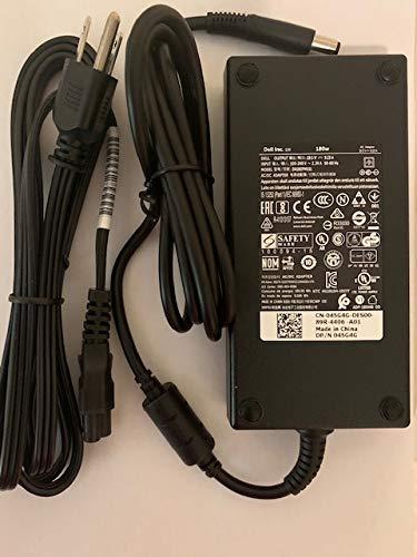 Dell 180W AC Adapter for Precision 7520, Alienware 15 R4, Alienware 17 R5, G7 15 (7588), G3 15 (3579) G3 17 (3779), G5 15 (5587), Inspiron 15 7000 Series (7577), Alienware M15, NDFTY, 450-AGCU, 45G4G