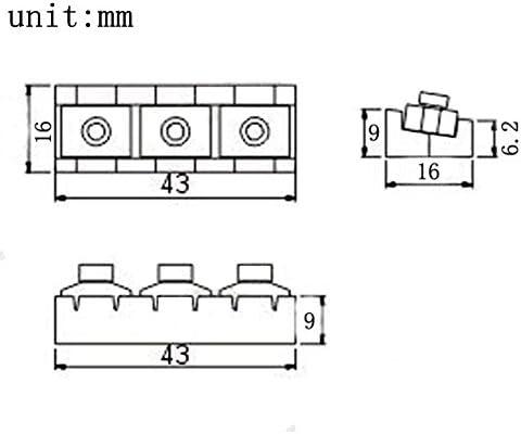 Corde de guitare /électrique Chrom/é /Écrou de blocage double verrouillage Systyem tr/émolo R3/43/mm