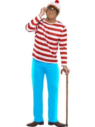 Smiffy's - Disfraz de Wally para hombre, talla 42-44 (34591L)