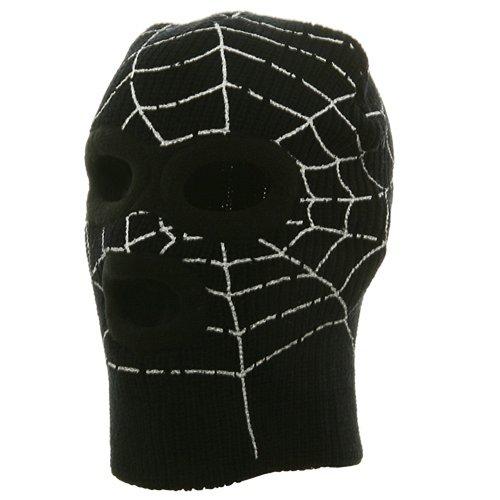 Super Hero Spiderman Ski Mask-Black W20S13D
