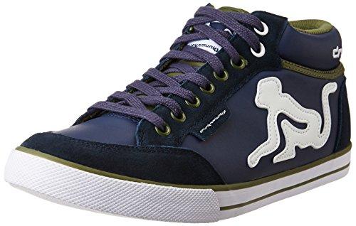 drunknmunky scarpe uomo DRUNKNMUNKY BOSTON MID 211 NAVY BLUE 38