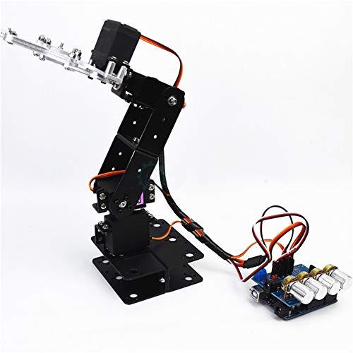 TMIL 4DOF Metall RC Roboter-Hand/Arm-Roboter Mit MG996 Servo Und PS2-Stock, DIY Pädagogischer Kit Für Arduino