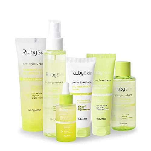 Kit Linha Ruby Skin Proteção Urbana Ruby Rose Facial