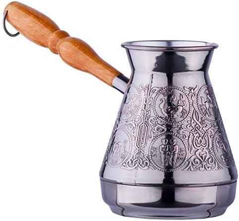Turkish Coffee Pot Cezve Ibrik Arabic Turka w Jezve Ranking Super beauty product restock quality top! TOP3 Greek Copper