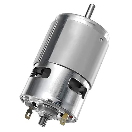 Wusfeng LHongBin-Motor DC Herramienta de energía eléctrica Nuevos Motores, DC 24V 15000RPM Tors de Alta Velocidad de Alta Velocidad DC 775 Motor, Piezas DC Motor, Amplia Gama de Aplicaciones