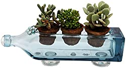 creative handmade gifts for girlfriend ~ glass planter