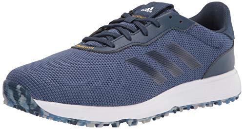 adidas mens Golf Shoe, Crew Blue/Crew Navy/Crew Yellow, 10 US