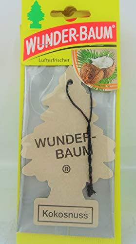 """Lufterfrischer Wunderbaum """"Kokos"""""""