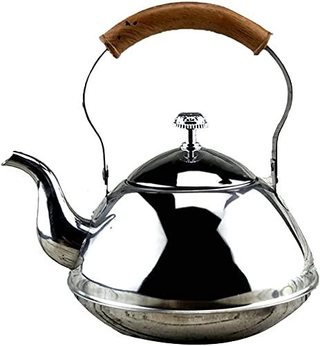 WANBAO Útil Hervidor de Agua de Acero Inoxidable, hervidor de té con Filtro, Adecuado para el Restaurante de Cocina. (Size : 5L)