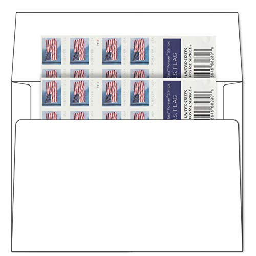 #10 Business Envelopes with Postage Stamp (Book of 40)