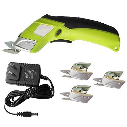 Tijeras eléctricas para tejidos, tijeras eléctricas recargables, máquina de cortar eléctrica multifuncional,...