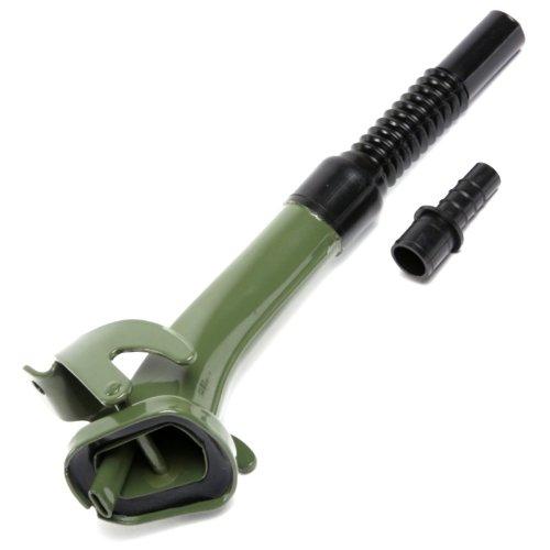 Oxid7® – Bec verseur flexible, en métal – pour jerrican de 5, 10 et 20 litres