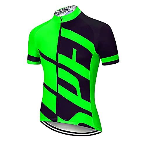 Maillot de Bicicleta para Hombre, Camiseta de MTV Barata,Jersey de Ciclismo Pro...
