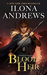 Blood Heir by Ilona Andrews book cover