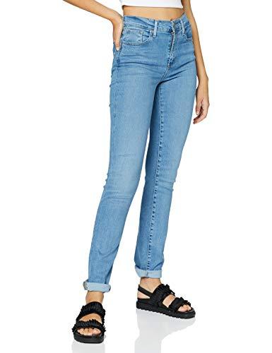 Levi's Damen 724 High Rise Straight Jeans, Rio Chill, 30W / 32L
