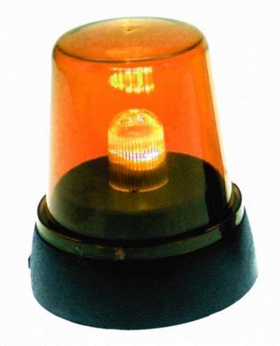 Schnooridoo 4 x LED Signallampe Rundumlicht Orange Partyleuchte Disco