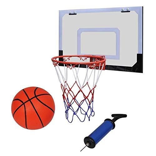 Estink Mini Canasta de baloncesto Kit, Canasta de baloncesto Niños de Dormitorio Oficina Puertas Interiores Cesta Porta juguetes Deportivos para Niño con Bola y Bomba