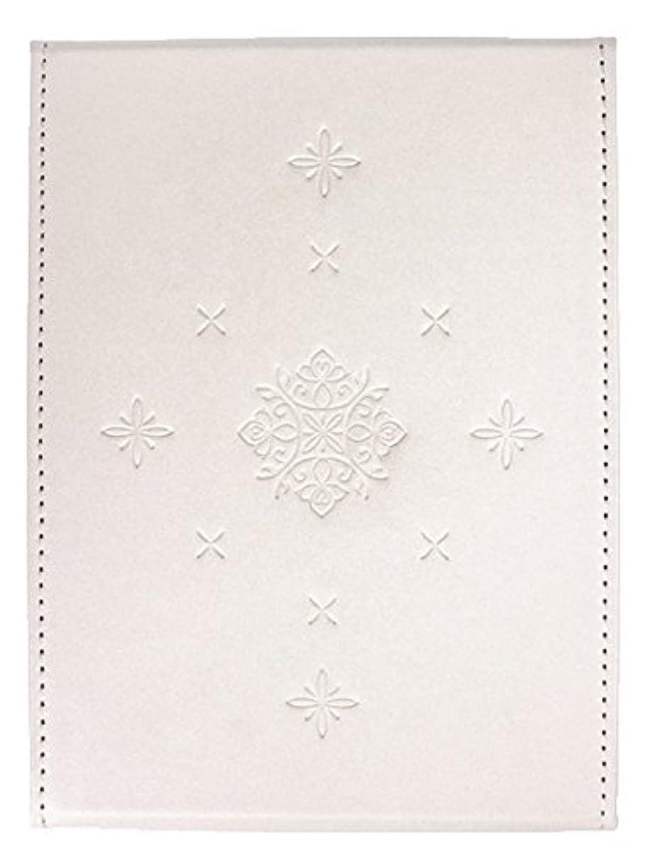 ホース優れた表向き粋 折立ミラー ホワイト YSU-02