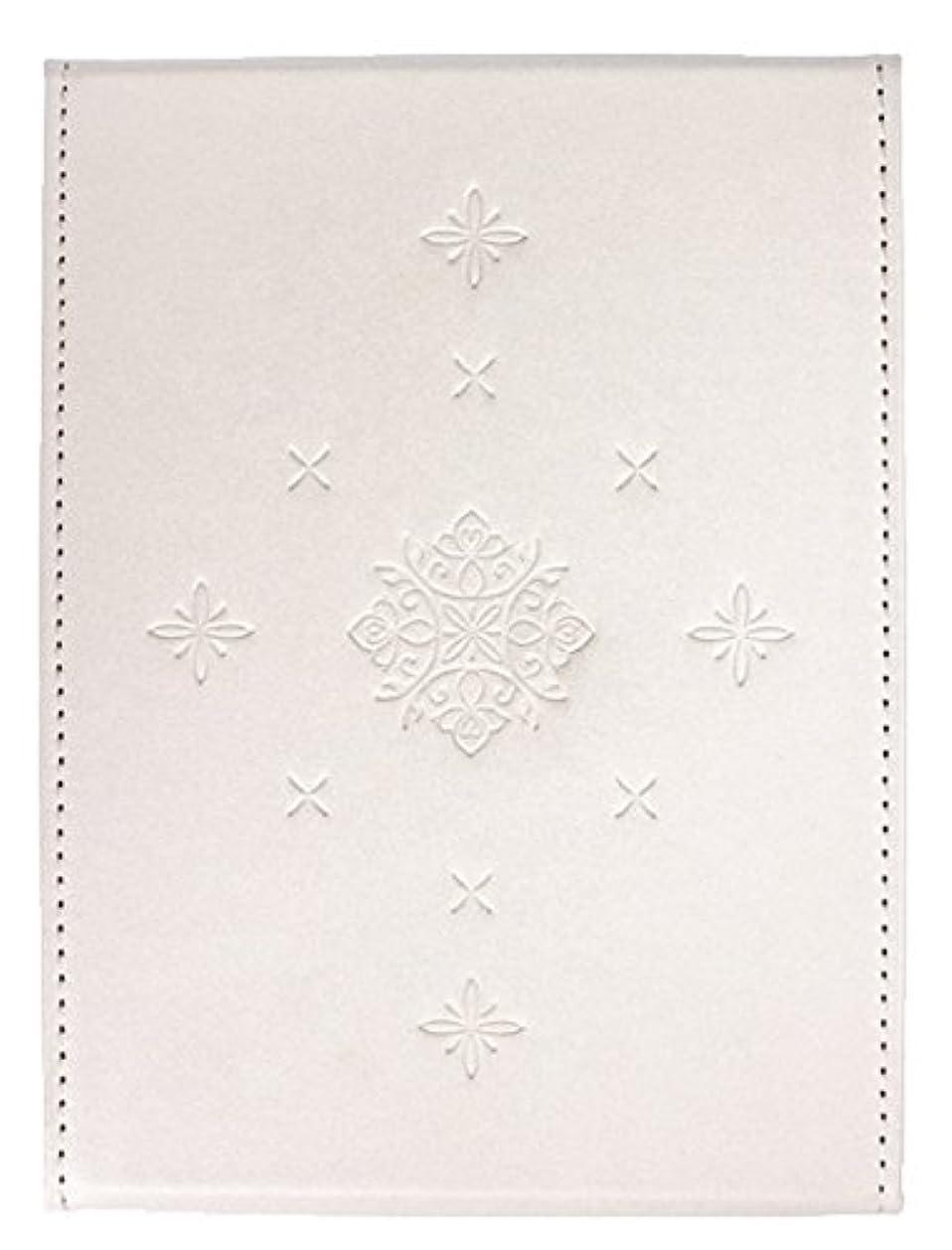 影叙情的なわな粋 折立ミラー ホワイト YSU-02