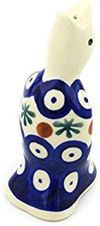 Polish Pottery 3½-inch Pie Bird (Mosquito Theme) + Certificate of Authenticity