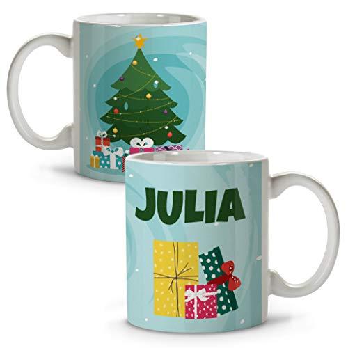Taza Personalizada con Nombre. Regalos Navidad Personalizados. Tazas Personalizadas de cerámica. Varios...
