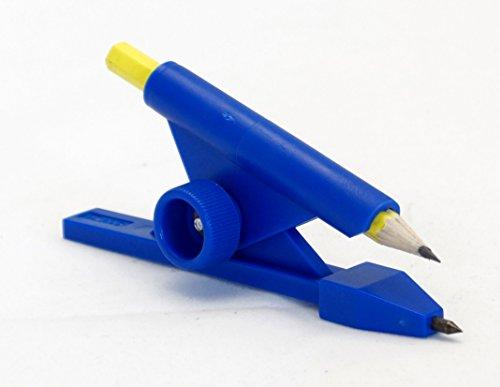 Schwaigertools PWE0123ZB Parallelanreißer mit Zirkelspitze und Bleistift