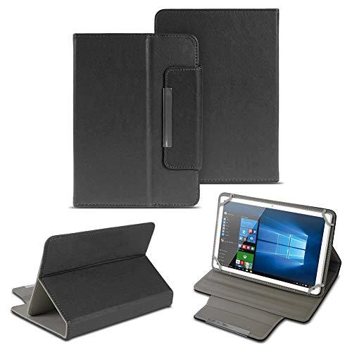 NAUC Universal Tasche Schutz Hülle 10-10.1 Zoll Tablet Schutzhülle Tab Hülle Cover Bag, Farben:Schwarz, Tablet Modell für:ARCHOS 101c Platinum