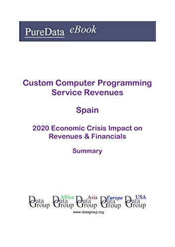 Custom Computer Programming Service Revenues Spain Summary: 2020 Economic Crisis Impact on Revenues & Financials (English Edition)