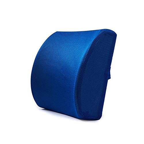 HUIXIAN XXIPO STRC Memoria Suave Espuma Lumbar Soporte Trasero Masajeador Cojín de Cintura Almohada Ajuste para sillas Asiento de Coche Almohada Almohada Oficina de la casa Aliviar el Dolor