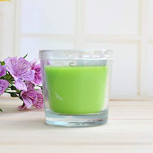 Taza de aromaterapia sin humo Taza de vidrio de cera Velas de vela Velas de aromaterapia IKEA Taza de cera