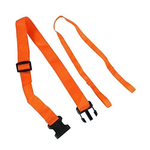 LIOOBO Deportes acuáticos Cinturón de Seguridad Uso de Emergencia Lifebuoy Tracción Cuerda Flotador Boya Lifebuoy Cinturón de Seguridad (Naranja)
