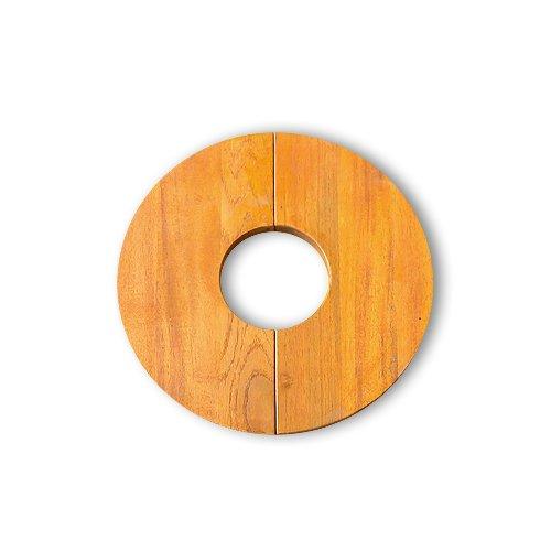 ハングアウト プランツテーブル チーク材 直径30cm PLT-C30(TE)