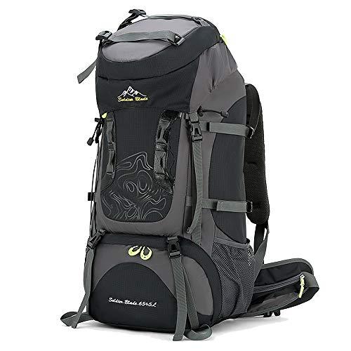 Lixada Mochila de Senderismo 70L Gran Capacidad Impermeable Mochila para Alpinismo Viaje Acampada Trekking Deporte