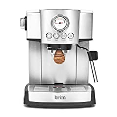 ESPRESSO MAKER: Built with a high pressure Italian pump & a powerful Thermal Cool heating system produces consistently hot espresso shot after shot., the 15 Bar Espresso Maker makes it easy to own the entire espresso making process from dosing to sip...