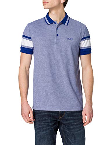 BOSS Paddy 7 10234774 01 Camisa de Polo, Bright Blue438, L para Hombre