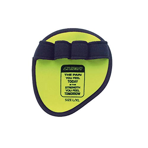 Chiba (Neon Yellow 40186 Motivation Grippad, Unisex Adulto, L/XL