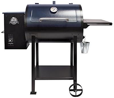 PIT BOSS PB700D Wood Fired Pellet Grill / Flame Broiler BBQ, schwarz, 134x68x111.25 cm