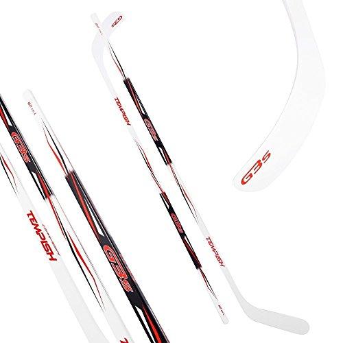 Hockey- und Eishockeyschläger Tempish G3S rot 115-152 cm ABS Schaufel (115 cm - Rechtsschuß)