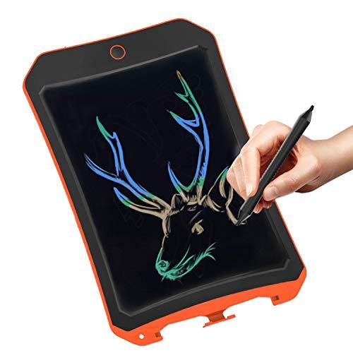 JRD&BS WINL Bunte LCD Elektronische Schreibtafel Spielzeug 4-9 Jahre Alter Junge, Teen Girl Geburtstagsgeschenk, 8.5 Zoll Familie Und Outdoor Handgeschriebenes Papier Zeichenbrett (Orange)