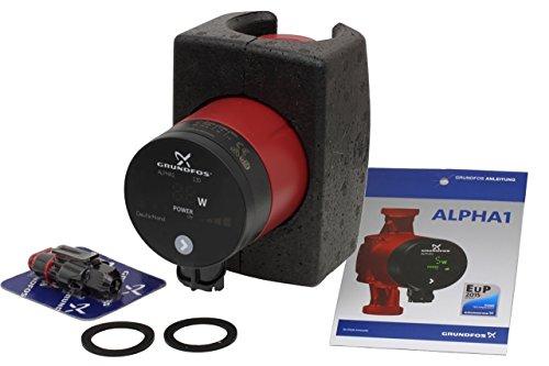 Preisvergleich Produktbild Grundfos Hocheffizienz-Umwälzpumpe Alpha1 25-60 130 mm