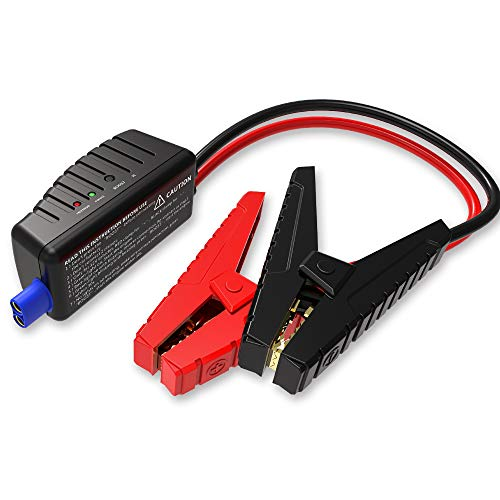 GOOLOO Car Jump starter Cable Intelligent Booster Terminal with Clamps for GOOLOO Jump Starter (GP37-Plus) - Black/Red
