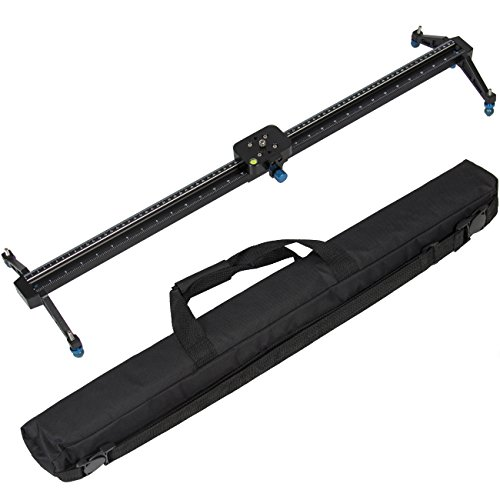 Best Choice Products Pro 32' DSLR Camera Slider Dolly Track Video Stabilizer Camcorder Stabilization